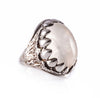 Moonstone Dragon Tooth Ring