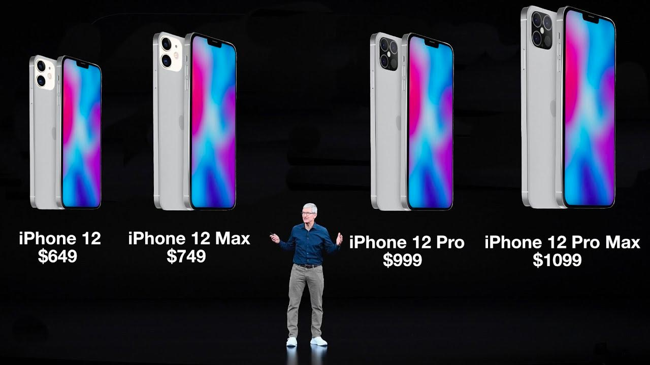 Prix de l'iPhone 12