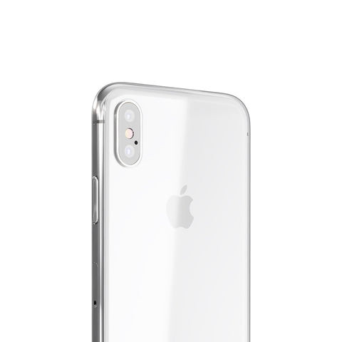 Coque PHANTOM pour iPhone X, XS, XS Max - Transparente et ultra fine