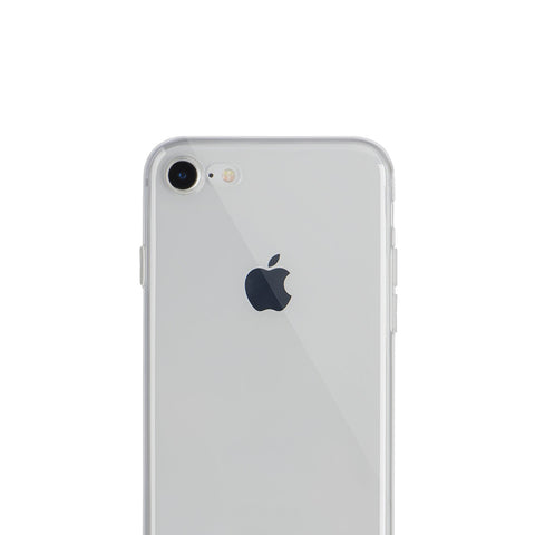 Coque INVISIBLE_X pour iPhone SE 2020, 6/6S, 7, 8 & Plus - Transparente, souple et super fine