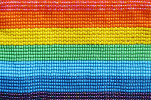 Pride Glass Bead Pouch