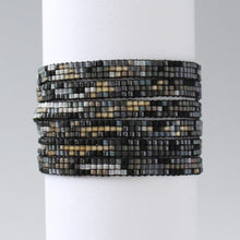 Load image into Gallery viewer, Beaded Adjustable Necklace-Wrap Bracelet