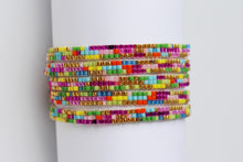 Load image into Gallery viewer, Random Beaded Necklace  or Wrap Bracelet