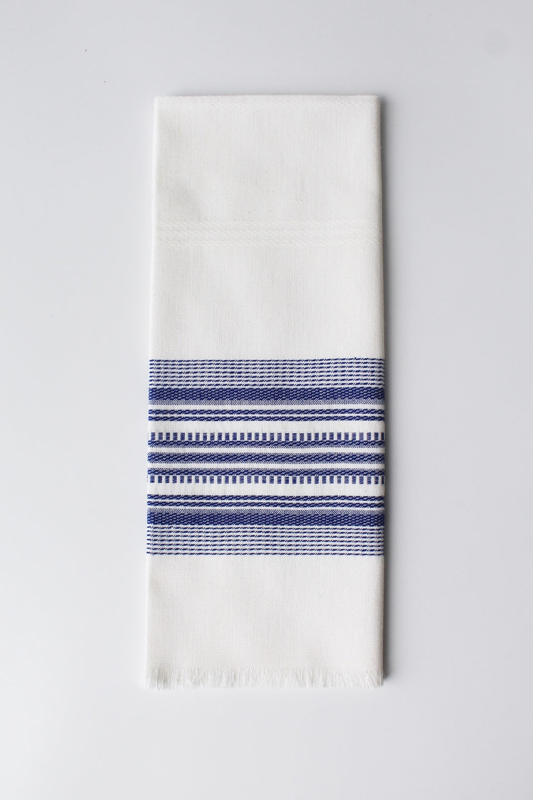 Tea Towels Blue on White - set of 2
