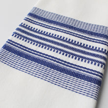 Load image into Gallery viewer, Tea Towels Blue on White - set of 2