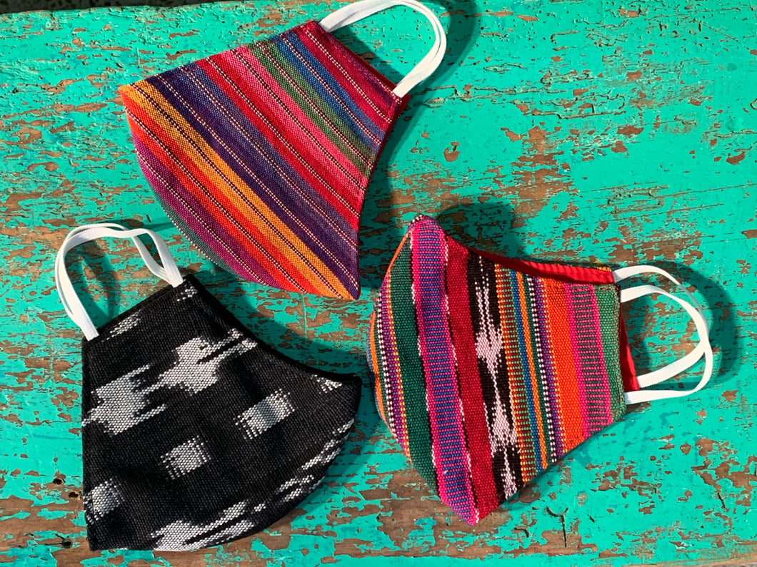 Guatemalan Fabric Masks