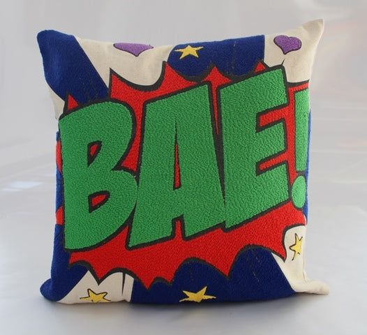 Pop art pillow – BAE 16 X 16