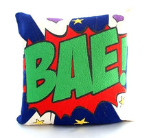 Load image into Gallery viewer, Pop art pillow – BAE 16 X 16