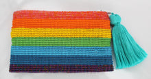 Load image into Gallery viewer, Pride Glass Bead Coin Purse
