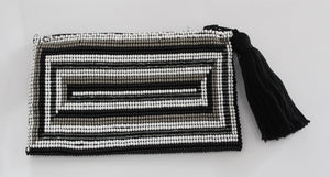 Rectangle Glass Bead Coin Purse