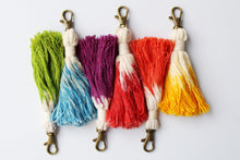 Load image into Gallery viewer, Tassel Keychain Set of 6 - Assorted