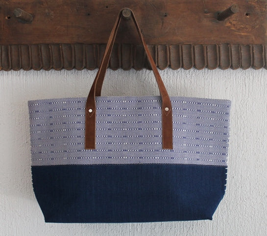 Digital Blue Tote