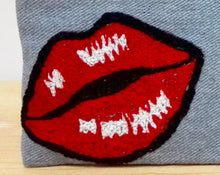 Load image into Gallery viewer, Cosmetic Bag - Pop Art Hot Lips