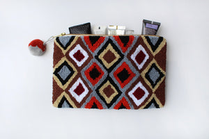 Cosmetic Bag - Geo Earth