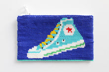 Load image into Gallery viewer, Glass Bead Coin Purse Hightops