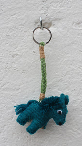 Wool small Animal Keychain - Pack of 25 Units Assorted