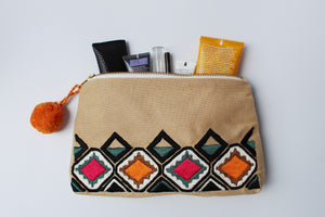 Boho Ethnic Clutch Diamond