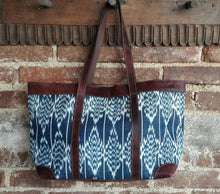 Load image into Gallery viewer, Tote Bag with Leather Straps and Accents