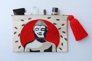 Cosmetic Clutch Buddha