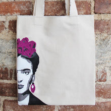 Load image into Gallery viewer, Frida tote detail