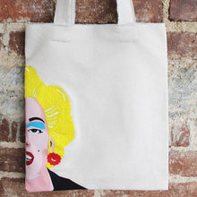 Load image into Gallery viewer, Marilyn Tote detail