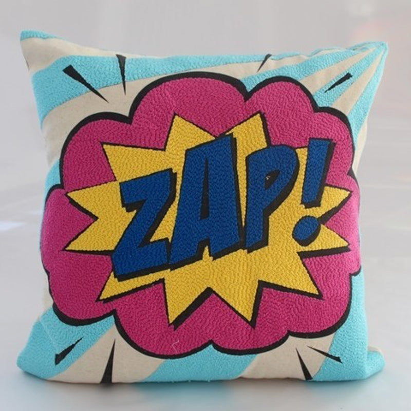 Pop art pillow – ZAP 16 X 16