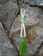 Load image into Gallery viewer, Rope Keychain green