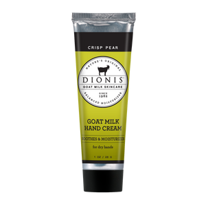 Crisp Pear Goat Milk Hand Cream 1oz.