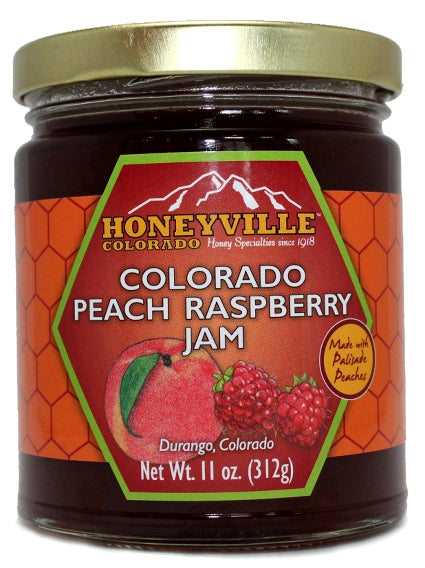 Honeyville Colorado Peach Raspberry Jam