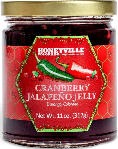 Honeyville Cranberry Jalapeno Jelly