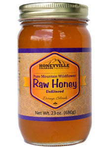 Honeyville Raw & Unfiltered Wildflower Honey
