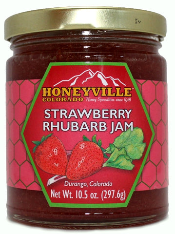 Honeyville Strawberry Rhubarb Jam