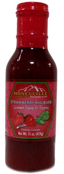Honeyville Strawberry Rhubarb Syrup