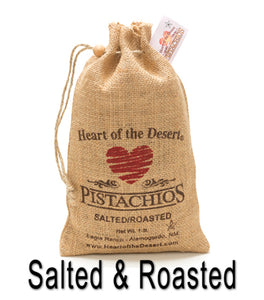Pistachios Burlap Bag (Salted & Roasted In Shell)