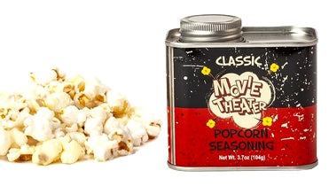 Retro Tin Classic Movie Theatre Popcorn Seasoning