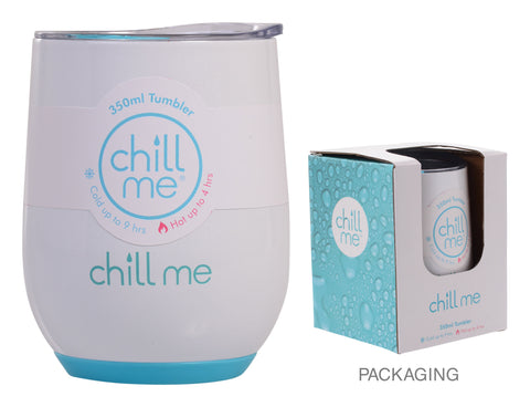 Chill Me White Sands 350ml Stainless Steel Tumbler
