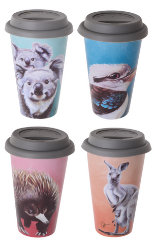 Chris Riley Australian Animals Travel Mug