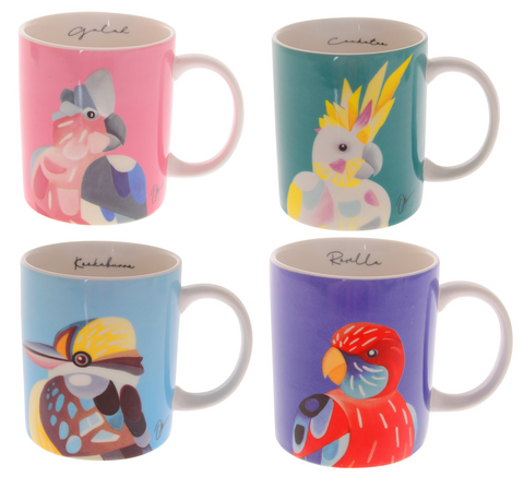 Chris Riley Australian Birds Mug