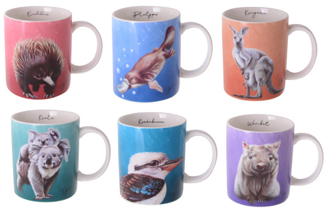 Chris Riley Australian Animals Mug