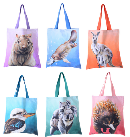 Chris Riley Australian Animal Tote Bag