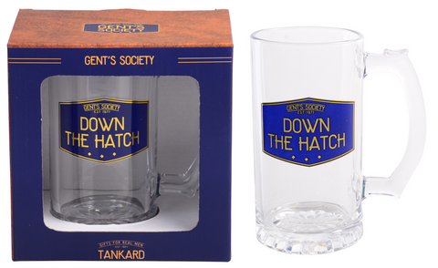 Gent's Society Tankard- Down The Hatch