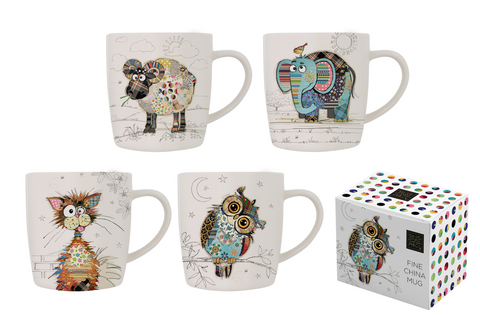 Bug Art Kooks Mugs