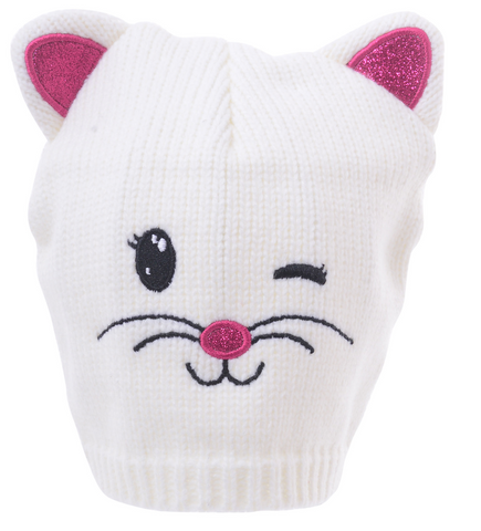 Essence Kids Beanie- Cute Cat