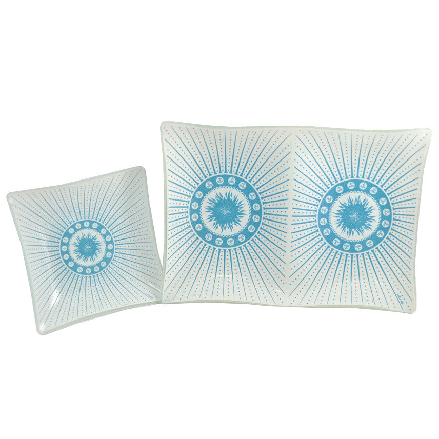 Fred Press Turquoise Sun Trays, The Hour Shop