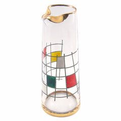 Mondrian Inspired Cocktail Pitcher