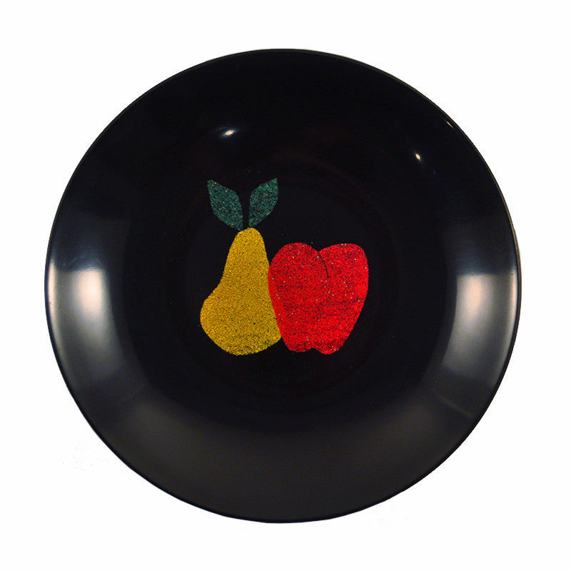 Couroc Pear & Apple Resin Bowl, The Hour Shop Vintage
