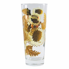 The Hour Shop Vintage Cocktail Glasses, Culver Gold Chrysanthemum Collins Glasses