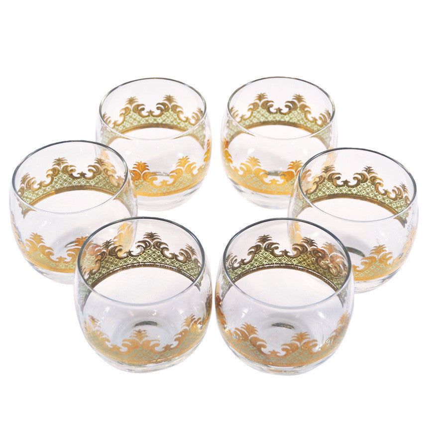 The Hour, Vintage G. Briard Carrara Roly Poly Glasses