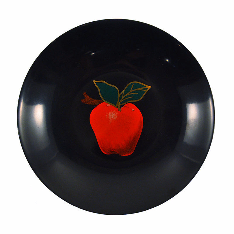 Couroc Red Apple Bowl, The Hour Shop Vintage Barware