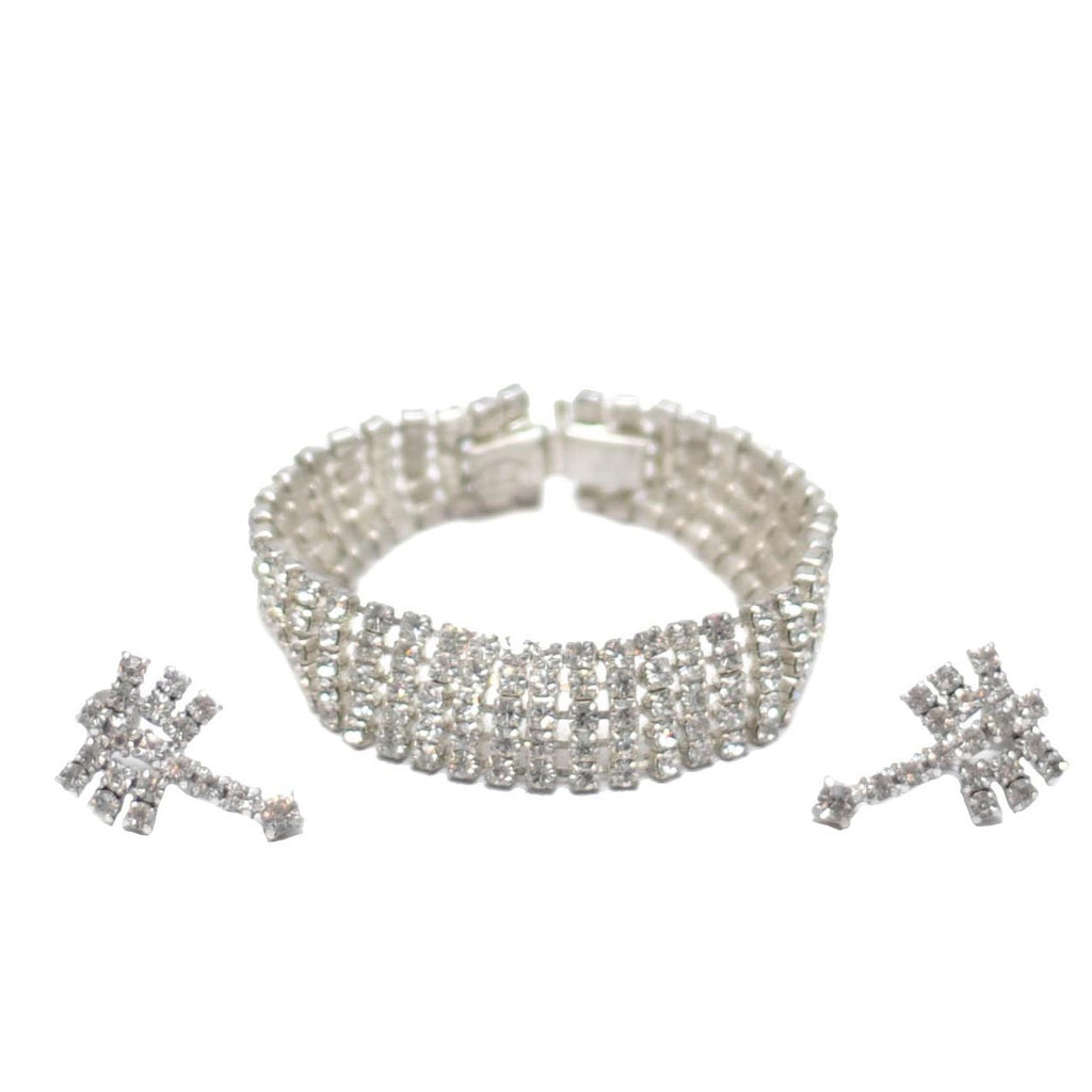 The Hour Shop, Clear Rhinestone Bracelet
